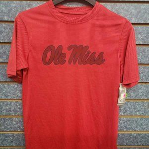 Section 101 Ole Miss Red SS Shirt Men's Sz S